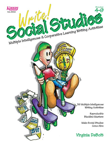 Write! Social Studies cover